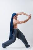 舞蹈演员执行 免版税图库摄影