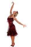 舞蹈演员拉丁 库存照片