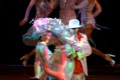 舞蹈演员显示 免版税库存照片