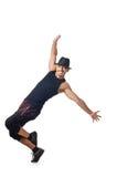 舞蹈演员查出 免版税库存照片