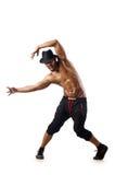 舞蹈演员查出 图库摄影
