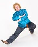 舞蹈演员民间俄语 库存照片