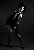 舞蹈演员爵士乐 免版税库存图片
