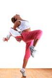 舞蹈演员现代妇女 免版税库存照片