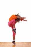 舞蹈演员现代妇女 库存照片