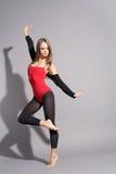 舞蹈演员现代样式 免版税库存图片