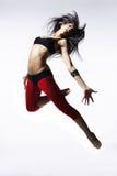 舞蹈演员现代样式 库存照片