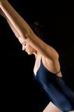 舞蹈演员现代年轻人 免版税库存照片