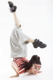 舞蹈演员现代样式 图库摄影