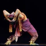 舞蹈演员种族蒙古语 库存图片