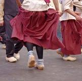 舞蹈演员荷兰语节日 库存照片