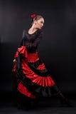 舞蹈演员西班牙语 免版税库存照片