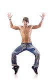 舞蹈演员跳舞舞蹈 免版税图库摄影