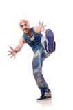 舞蹈演员跳舞 免版税图库摄影