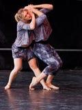 舞蹈演员阶段 图库摄影