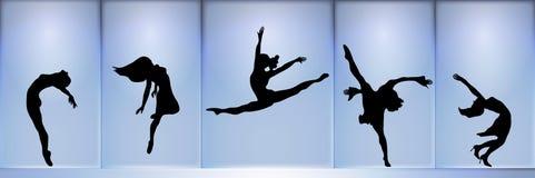 舞蹈演员 皇族释放例证