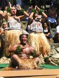 舞蹈演员hawaiii 免版税库存图片
