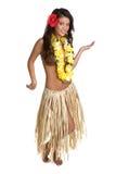 舞蹈演员hula 库存图片