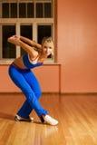舞蹈现代培训人 库存照片