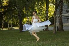 舞蹈现代性能 免版税库存照片