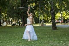 舞蹈现代性能 库存图片