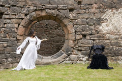 舞蹈神仙 库存图片