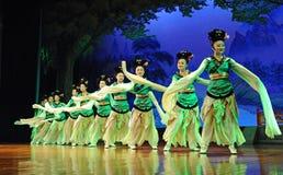 舞蹈舞蹈演员马戏团县 库存图片