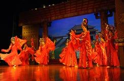 舞蹈舞蹈演员马戏团县 免版税图库摄影