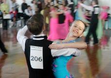 舞蹈节日开放体育运动 免版税库存图片