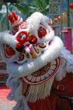 舞蹈节日狮子 库存照片