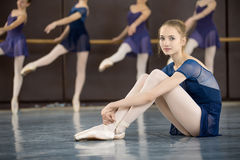 舞蹈课 免版税库存图片