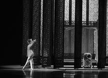 舞蹈过去的戏曲沙湾事件新娘首先房间这行动  免版税库存照片