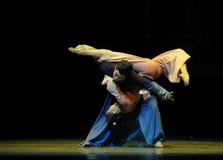 舞蹈过去的戏曲沙湾事件附庸这第三次行动时运  免版税库存图片