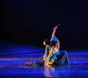 舞蹈这舞蹈戏曲书法神鹰英雄的传奇 库存图片