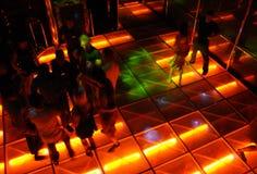 舞蹈迪斯科大厅样式 免版税库存照片
