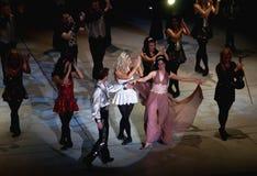舞蹈阁下性能 免版税库存照片