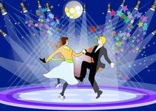 舞蹈阶段 免版税库存照片