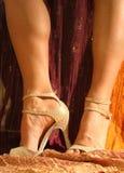 舞蹈鞋子 免版税库存图片