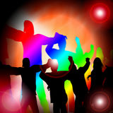 舞蹈音乐 免版税库存照片