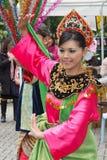 舞蹈马来西亚人 免版税库存照片