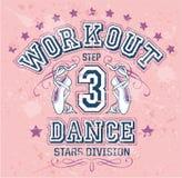 舞蹈锻炼 库存图片