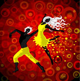 舞蹈 库存图片