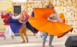 舞蹈haryanvi 库存图片