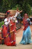 舞蹈rajasthani 免版税图库摄影