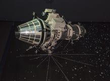 航天学和航空勒布尔热博物馆的内部, 库存照片