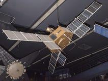 航天学和航空勒布尔热博物馆的内部, 免版税库存照片
