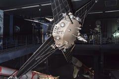 航天学和航空勒布尔热博物馆的内部, 图库摄影