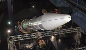航天学和航空勒布尔热博物馆的内部, 库存图片