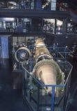 航天学和航空勒布尔热博物馆的内部  库存照片