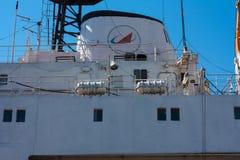 航天通讯船  库存图片